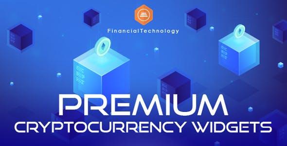 Premium Cryptocurrency Widgets 虚拟货币小工具 – v2.15.0