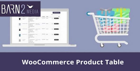 WooCommerce Product Table 产品表格插件 – v2.5.2