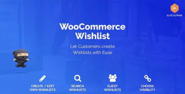 WooCommerce Wishlist 产品收藏夹 – v1.1.0