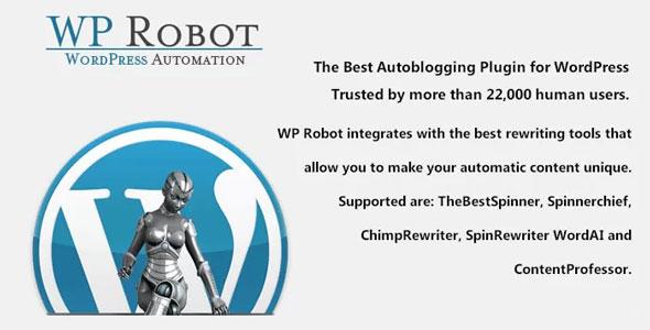 WP Robot – WordPress最佳自动网站更新插件 – v5.37