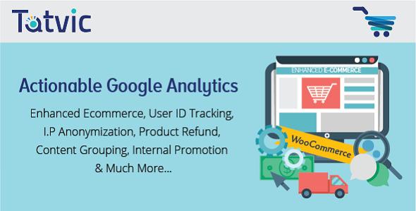 Actionable Google Analytics for WooCommerce 谷歌网站访问统计插件 – v3.6