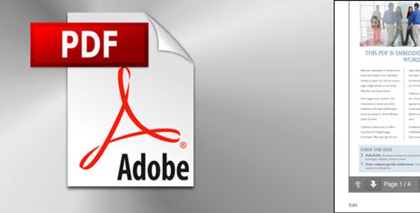 PDF Embedder Premium 网站插入PDF文档插件 – v4.4.1