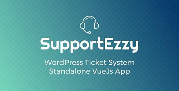 SupportEzzy – 多用途票务系统WordPress插件 – v2.0.2