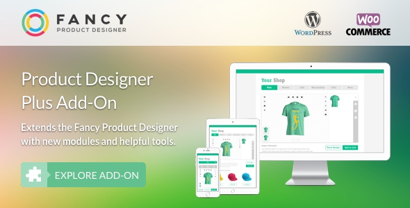 Fancy Product Designer Plus Add-On 扩展插件 – v1.2.7