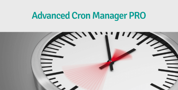 Advanced Cron Manager PRO 高级计划任务管理插件 – v2.4.2