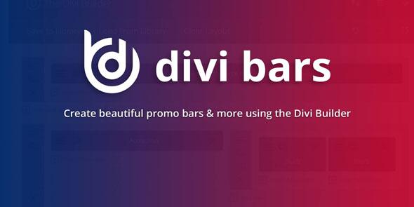 Divi Bars 通知栏顶部栏WordPress插件 – v1.8.5
