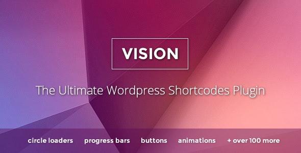 Vision – 简码段代码WordPress插件 – v3.4.3