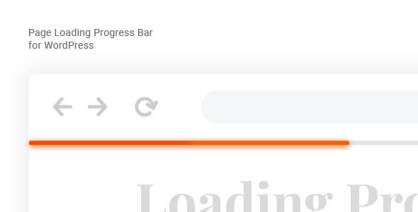 Laser – 页面加载进度栏WordPress插件 – v1.0.0