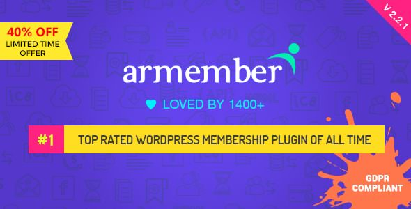 ARMember – 会员管理WordPress插件 – v4.0.1