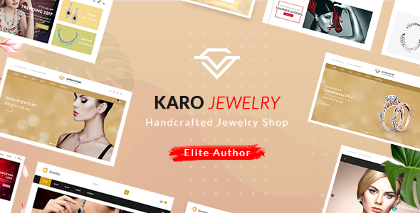 Karo – 珠宝手工制作WordPress主题 – v1.1.8