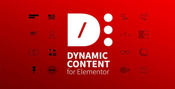 Dynamic Content for Elementor 动态组件扩展插件 – v1.9.6