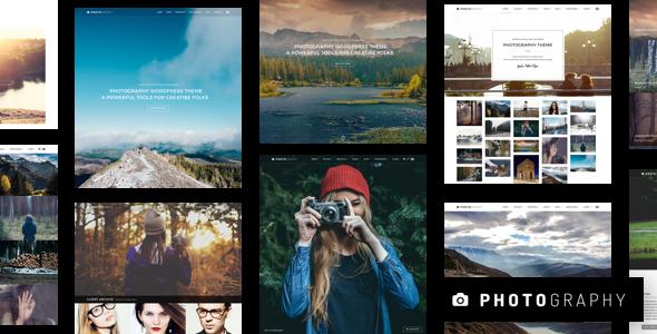 Photography – 响应式摄影相册WordPress主题 – v6.7.2