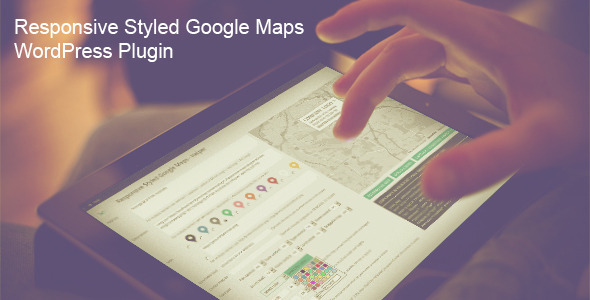 Responsive Styled Google Maps – 响应式谷歌地图WordPress插件 – v5.0