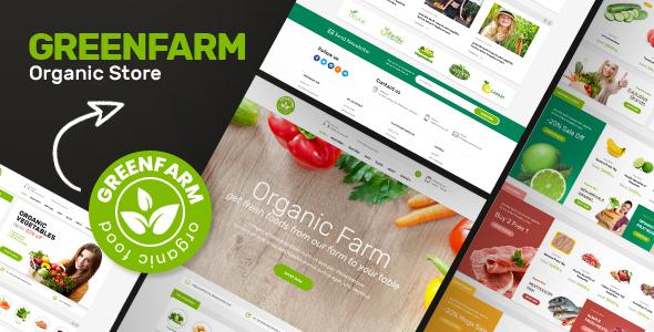 Greenfarm – 绿色有机食品 WooCommerce 主题 – v1.0.9