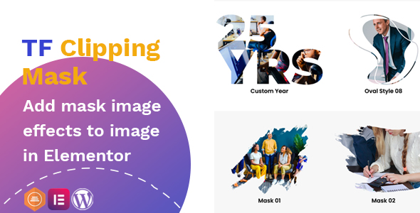 TFClipping Mask AddOns Image for Elementor 遮罩图像插件