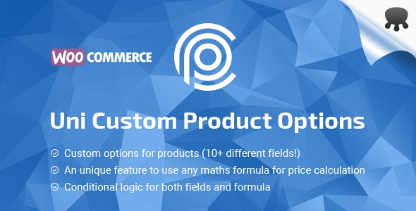Uni CPO – WooCommerce 选项价格计算公式插件 – v4.6.14