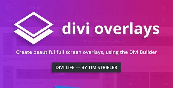 Divi Overlays – 弹窗模态插件 – v2.8.8.1