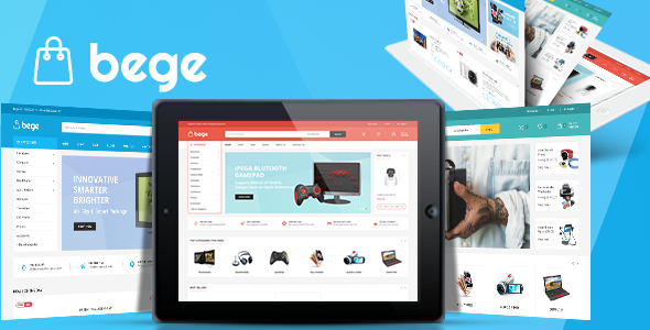 Bege – 响应式在线电商WordPress主题 – v1.3.4
