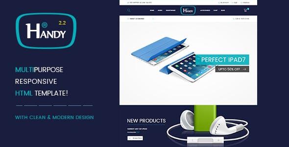 Handy Shop – 数码电子产品WooComerce商店模板 – v2.2