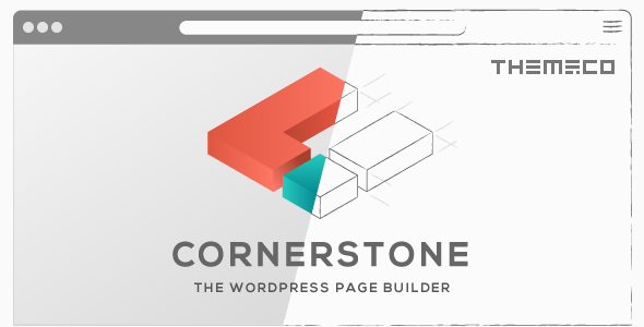 Cornerstone – 多用途可视化编辑WordPress主题 – v3.2.3