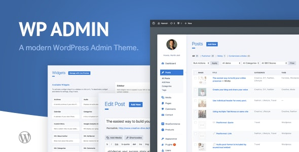 wphave Admin – 现代简约WordPress后台模板 – v2.1