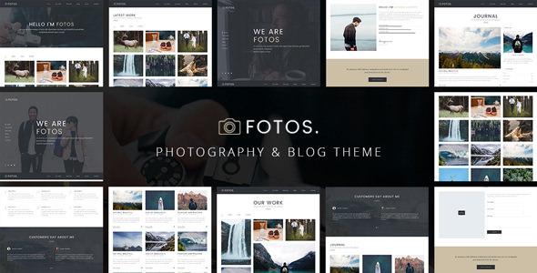 Fotos – 响应式摄影相册WordPress主题 – v1.0.2
