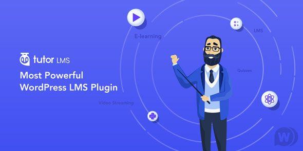 Tutor LMS Pro – LMS教育培训课程WordPress插件 – v1.7.0
