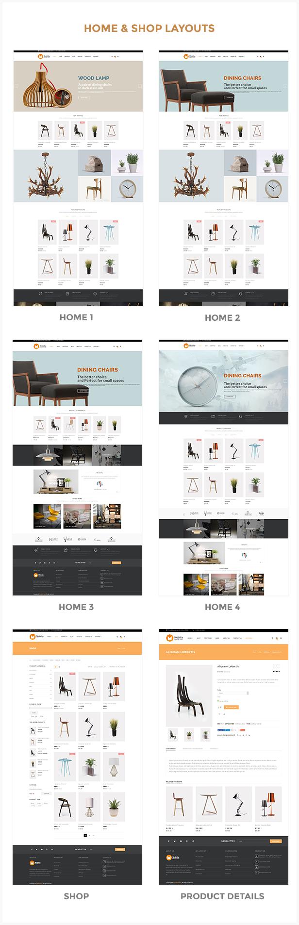 Mobilia – 家具商店WooCommerce主题 – v1.2