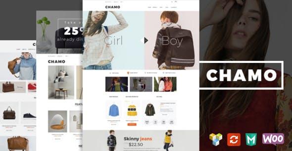 Chamo – 服饰包包商店WooCommerce模板 – v1.4.1