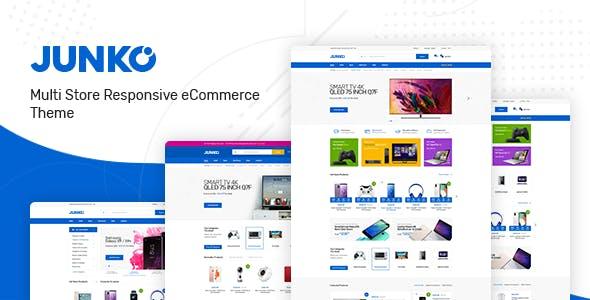 Junko – 数码商城WooCommerce电商模板 – v1.0.6