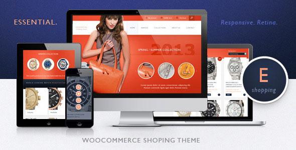 Essential – 时尚服饰商店WooCommerce购物商城 – v1.2.43