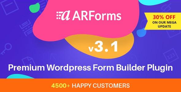 ARForms – 电子邮件营销表单构建器插件 – v4.2