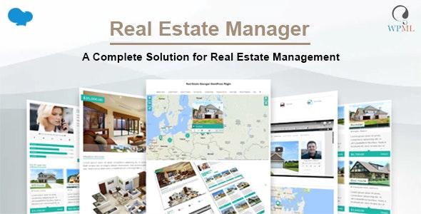 Real Estate Manager Pro 不动产房产管理WordPress插件 – v10.7.5