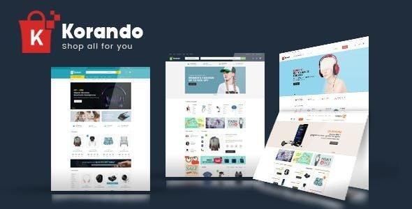 Korando – WooCommerce多用途在线商店主题 – v1.1.5