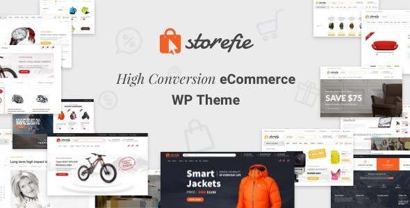 Storefie – 精美设计电商eCommerce模板 – v1.2.2
