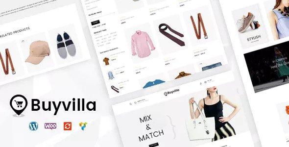 Buyvilla – 电子商务WooCommerce模板 – v1.0