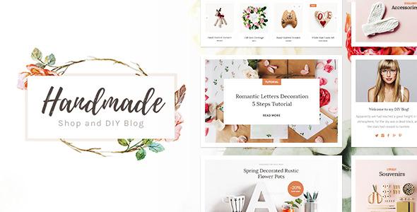 Handmade Shop – 创意手工艺制品网店WordPress商店
