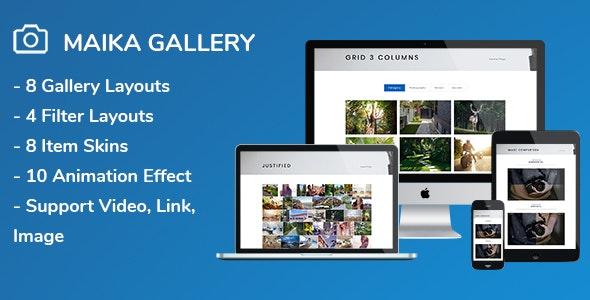 Maika – Gallery Plugin for WordPress 相册插件 – v1.16