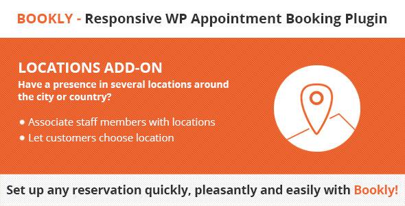 Bookly Locations (Add-on) 预约插件位置管理 – v2.6