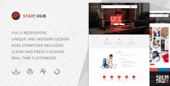 StartHub – 多用途企业博客WordPress主题 – v1.0.1