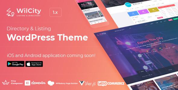 Wilcity – 商家目录WordPress主题 – v1.2.16