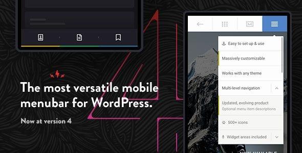 Touchy – 自定义移动端手机版菜单WordPress汉化插件 – v4.0