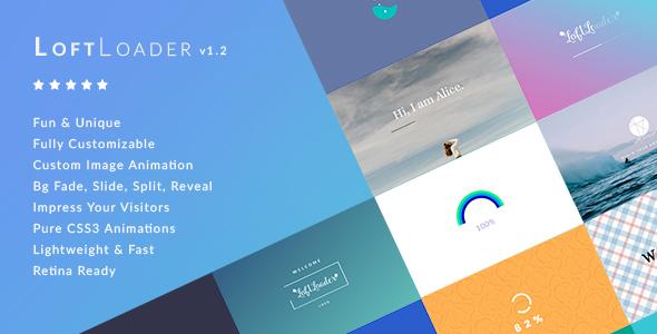 LoftLoader Pro – 网站预加载专业版WordPress插件 – v2.2.3