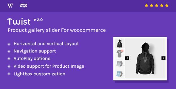 Twist – Woocommerce商品幻灯片插件 – v3.0