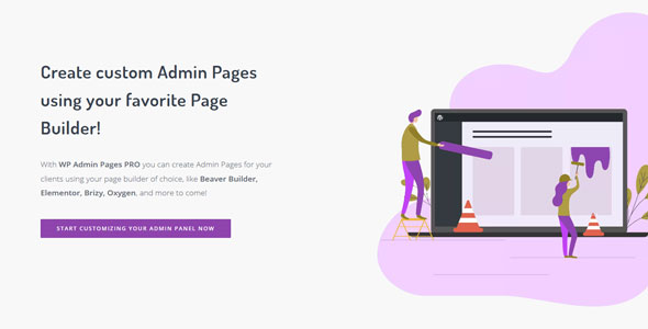 WP Admin Pages PRO 后台管理页面构建器WordPress插件 – v1.8.1