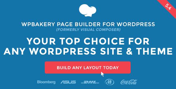 WPBakery Page Builder – 拖拽式可视化编辑器WordPress汉化插件 – v6.4.0
