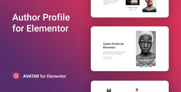 Avatar – Author Box for Elementor 文章作者展示插件