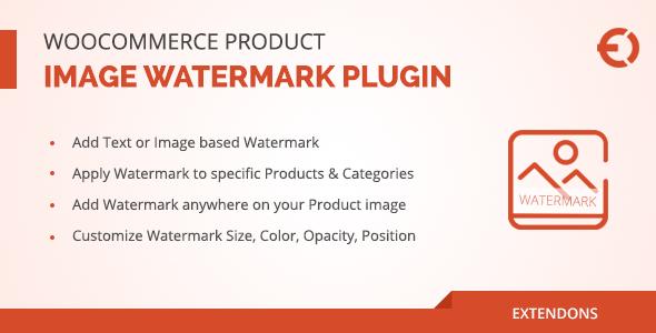 WooCommerce Product Image Watermark Plugin 产品图片水印插件 – v1.0.7