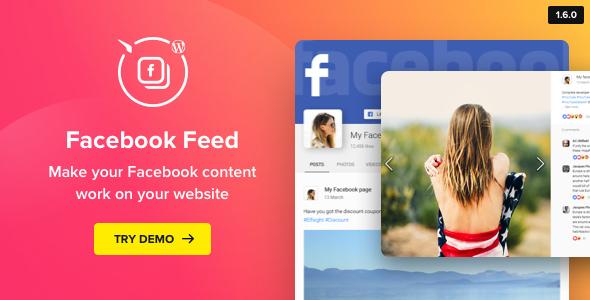 WordPress Facebook Plugin – Facebook Feed 小工具 – v1.14.1
