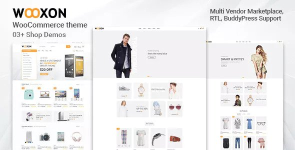 Wooxon – WooCommerce 在线电商网站模板 – v1.0.3